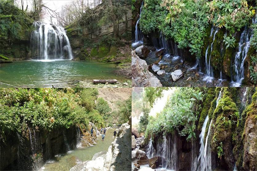 دره و آبشار هفت چشمه البرز