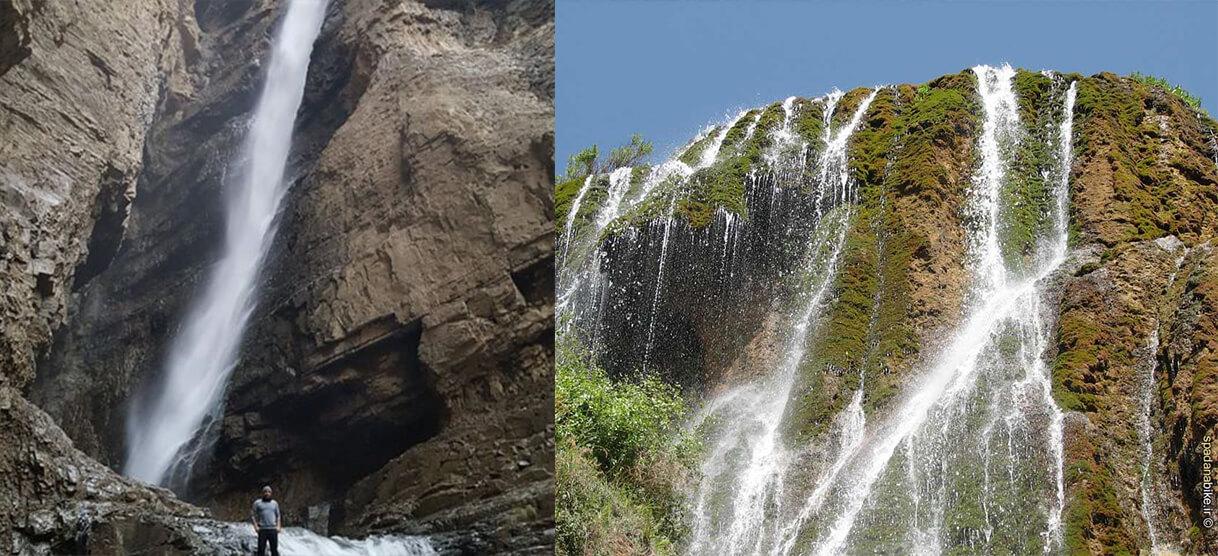 آبشار ارنگه کرج - جاهای دینی کرج استان البرز