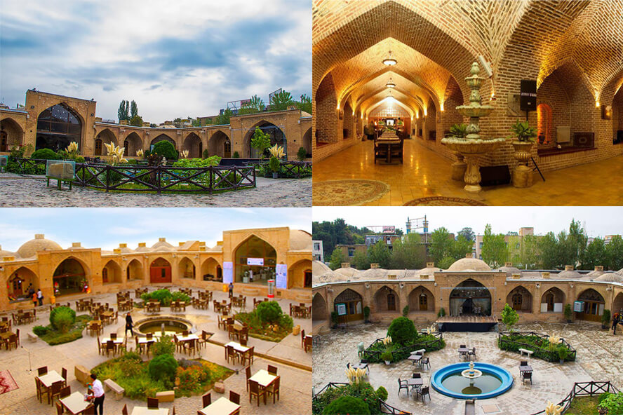 کاروانسرای شاه عباسی شهر کرج